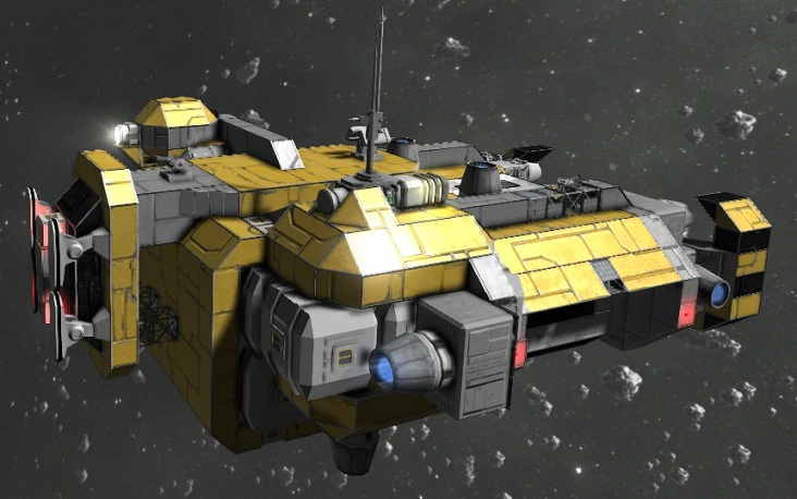 Space Engineers Building Drone Mining Drone